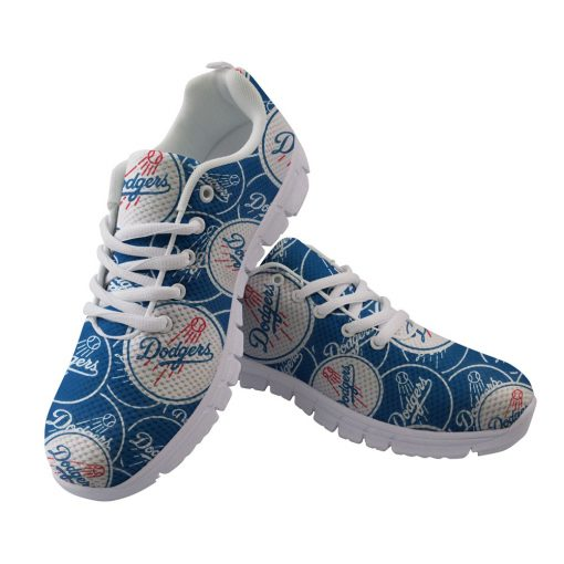 Los Angeles Dodgers Custom 3D Running Shoes
