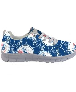 Los Angeles Dodgers Custom 3D Running Shoes