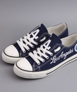 Los Angeles Dodgers Limited Low Top Canvas Sneakers