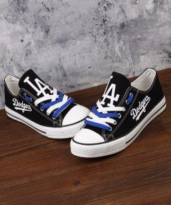 Los Angeles Dodgers Limited Low Top Canvas Shoes Sport