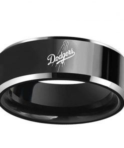 Los Angeles Dodgers Tungsten Rings