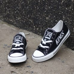 Los Angeles Kings Limited Low Top Canvas Sneakers