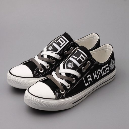 Los Angeles Kings Limited Low Top Canvas Shoes Sport