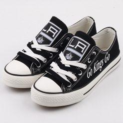 Los Angeles Kings Low Top Canvas Sneakers