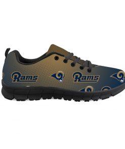 Los Angeles Rams Custom 3D Print Running Sneakers