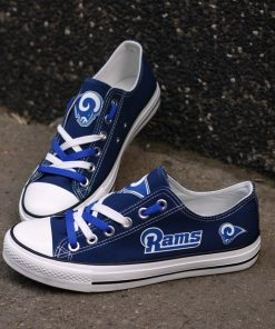 Los Angeles Rams Limited Low Top Canvas Shoes Sport