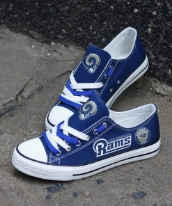 Rams Limited Low Top Canvas Shoes Sport