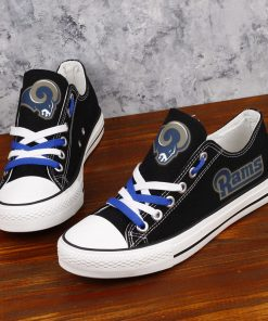 Rams Limited Low Top Canvas Sneakers
