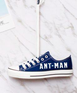 Marvel Avengers Hero Ant-Man Luminous Casual Canvas Low Top Sneakers