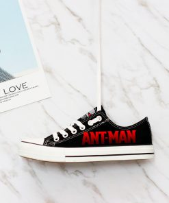 Marvel Avengers Hero Ant-Man Printed Casual Canvas Low Top Sneakers