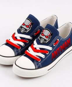 Marvel Avengers Hero Ant-Man Casual Canvas Low Top Shoes Sport