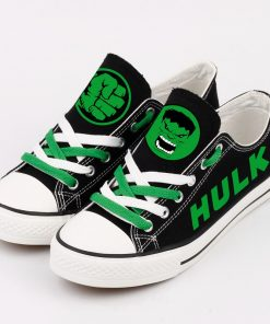 Marvel Avengers Hero Hulk Casual Canvas Low Top Shoes Sport