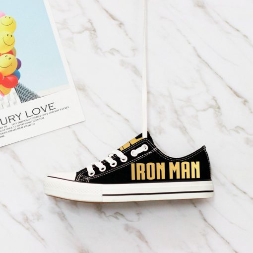Marvel Avengers Hero Iron Man Casual Canvas Shoes Sport