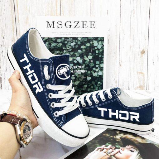 Marvel Avengers Hero Thor Luminous Casual Canvas Shoes Sport