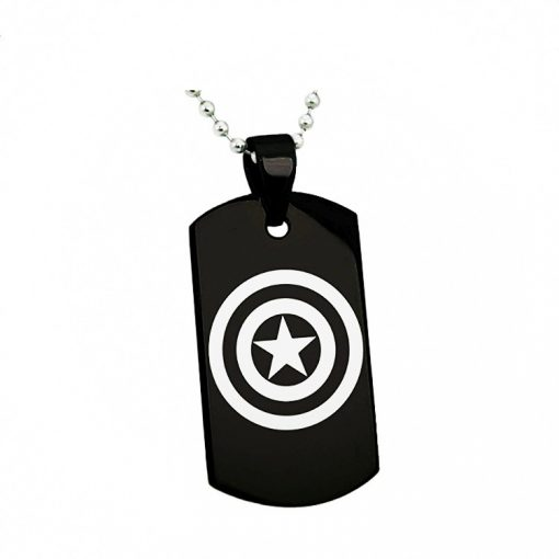 Avengers Captain America Tungsten Necklace DIY