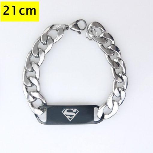 Marvel The Avengers Men Fashion Wristlet Stainless Steel Bracelet