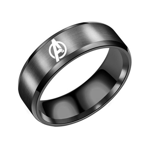 Marvel The Avengers Engraving Tungsten Rings DIY