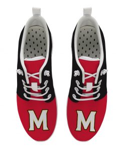Maryland Terrapins Customize Low Top Sneakers College Students