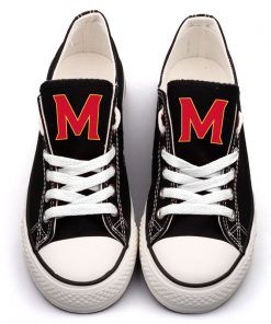 MarylandTerrapins Limited Low Top Canvas Shoes Sport