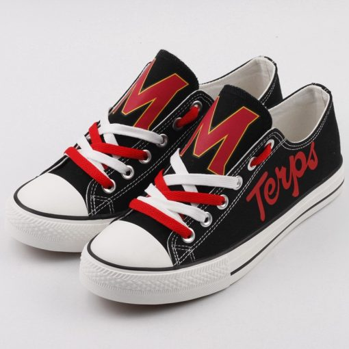 MarylandTerrapins Limited Low Top Canvas Sneakers