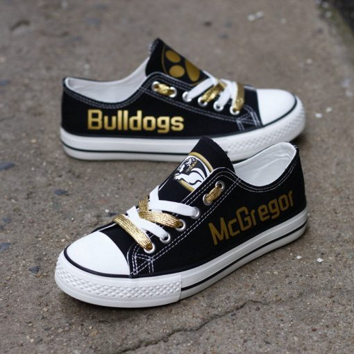 McGregor Bulldogs Limited High School Students Low Top Canvas Sneakers