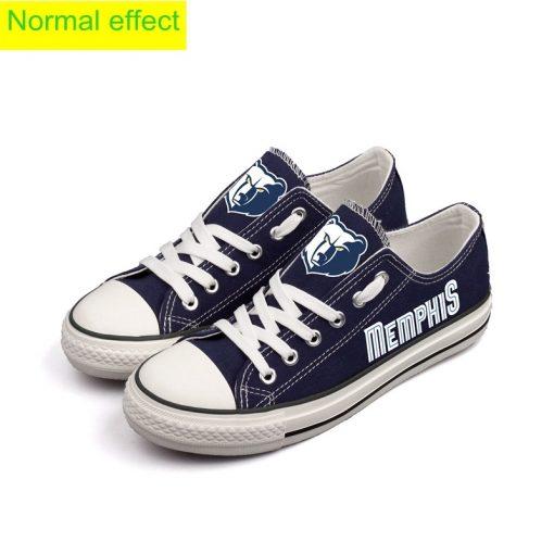Memphis Grizzlies Limited Luminous Low Top Canvas Sneakers