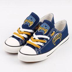 Memphis Grizzlies Fans Low Top Canvas Shoes Sport