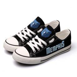 Memphis Grizzlies Low Top Canvas Shoes Sport