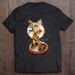 Men T Shirt Steeler Time Tinker Bell Women t shirt