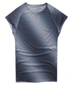Men s t shirt Casual Slim Fit Short Sleeve Sports O Neck Shirt Top Blouse kansas 3