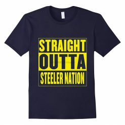 Men t shirt Straight Outta Steeler Nation t shirt for Mens Womens Kids RT Women tshirts