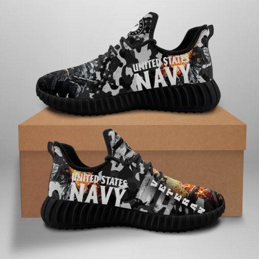 Men Women Yeezy Running Shoes Customize American Veterans