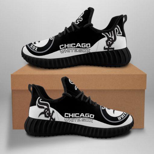 Men Women Running Shoes Customize Chicago White Sox
