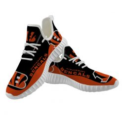 Men Women Running Shoes Customize Cincinnati Bengals
