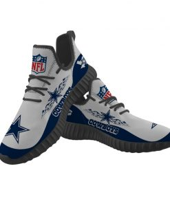 Men Women Sport Sneakers Yeezy Customize Dallas Cowboys