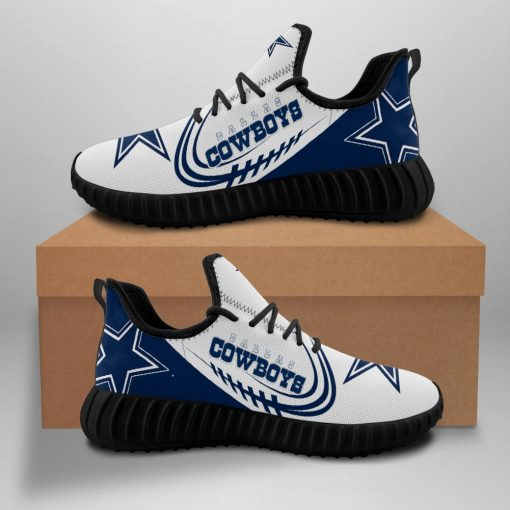 Dallas Cowboys Fans Sport Sneakers Yeezy