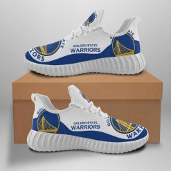 Men Women Running Shoes Customize Golden State Warriors