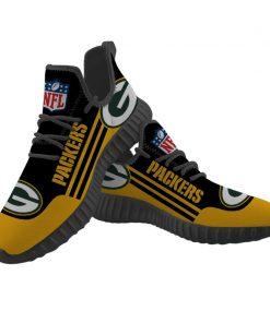 Men Women Running Shoes Customize Bay Packers