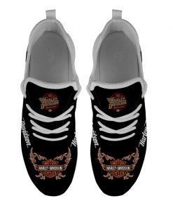 Men Women Running Shoes Customize Harley Davidson