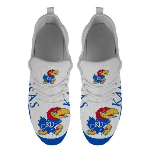 Men Women Running Shoes Customize Kansas Jayhawks