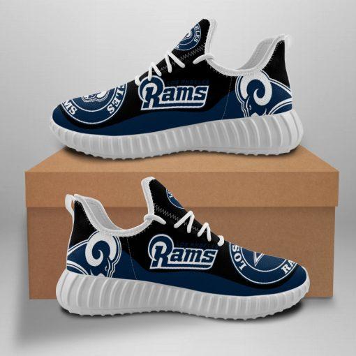 Men Women Running Shoes Customize Los Angeles Rams