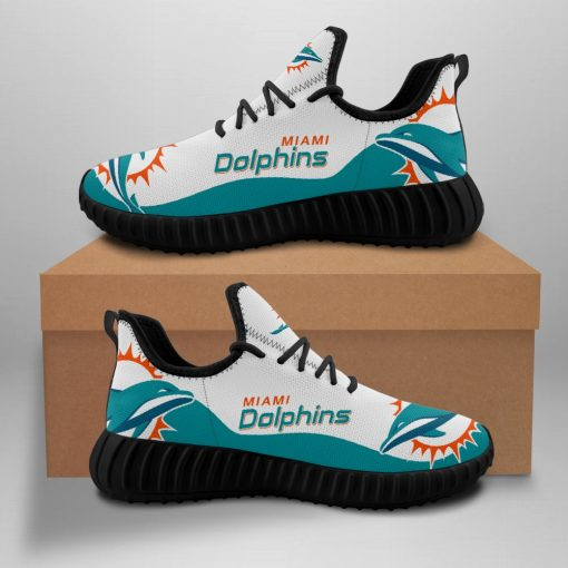 Men Women Running Shoes Customize Miami Dolphins