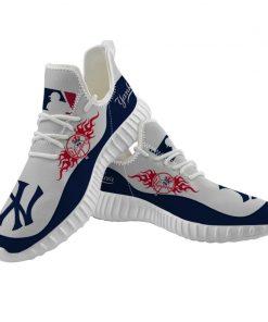 Men Women Running Shoes Customize New York Yankees
