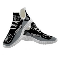 Men Women Running Shoes Customize Oakland Raiders