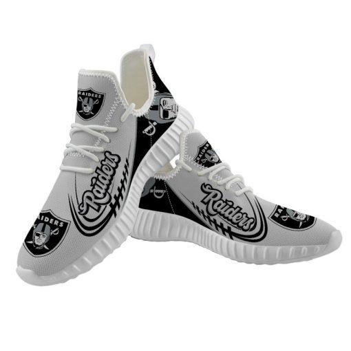 Unisex Running Shoes Customize Oakland Raiders