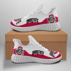 Men Women Running Shoes Customize Ohio State Buckeyes