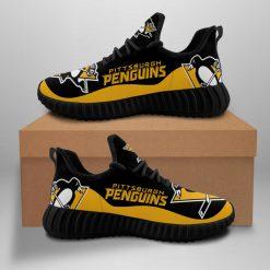 Men Women Running Shoes Customize Pittsburgh Penguins