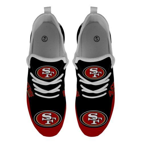 Men Women Running Shoes Customize San Francisco 49ers