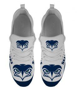 Men Women Running Shoes Customize Seattle Seahawks