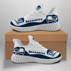 Men Women Running Shoes Customize Seattle Seahawks